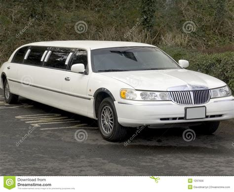Limousine Vehicle by Stretch Limo Limousine Big Car Royalty Free Stock Image