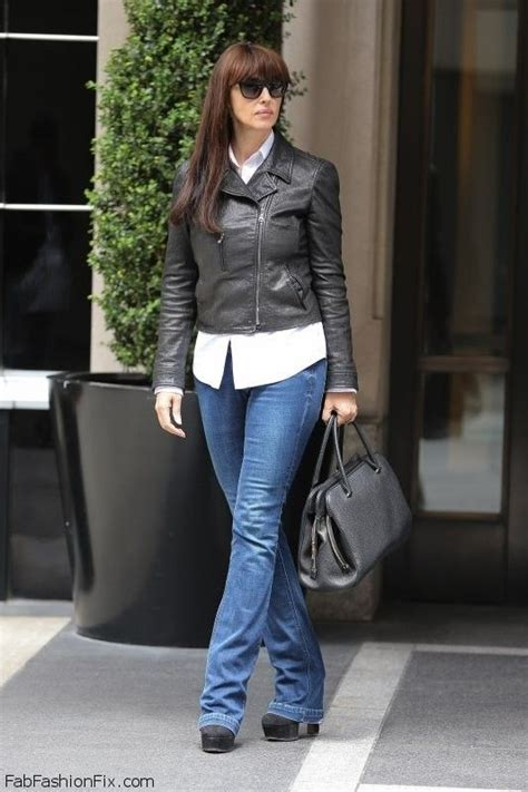 monica bellucci street style leather jackets leather and monica bellucci on pinterest