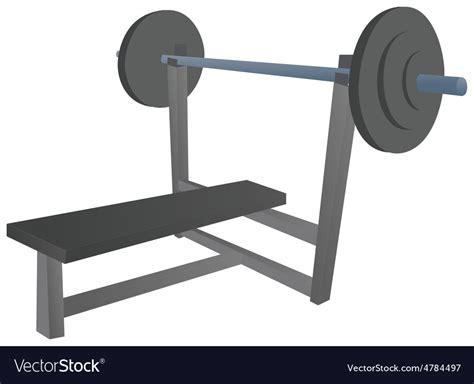 cartoon bench press cartoon bench press royalty free vector image vectorstock
