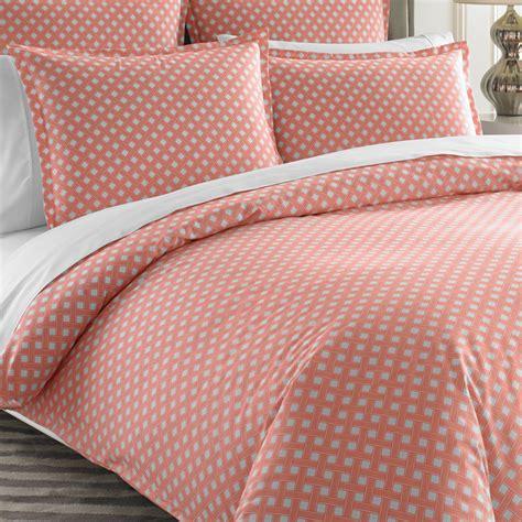mayfair bedding mayfair coral duvet cover by jonathan adler