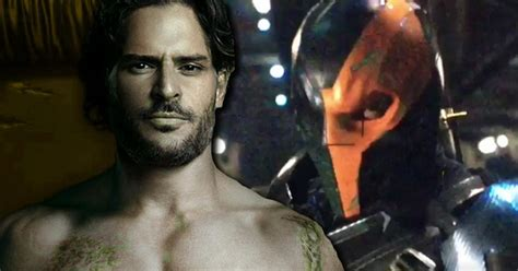 joe manganiello to play deathstroke in batman solo movie hollywood joe manganiello confirmed as deathstroke for ben affleck