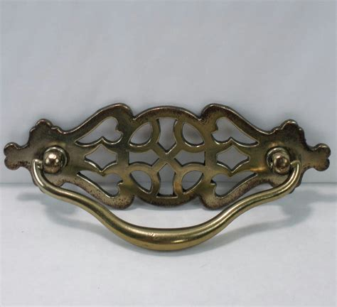 Drawer Pulls For by Fancy Antique Brass Finish Metal Drawer Pull Handles For