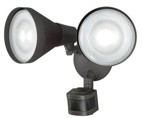 menards outdoor lighting motion sensor 240 degree 2 head motion activated flood light at menards 174