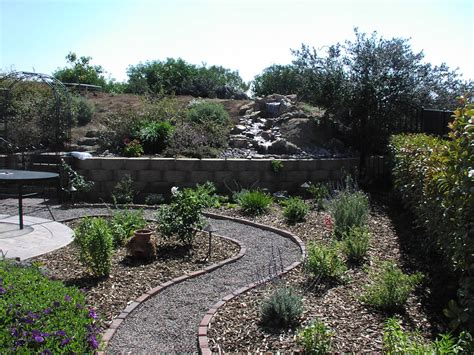 backyard makeovers with pondless waterfall design