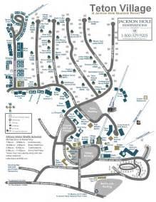 Jackson hole wyoming town map bing images
