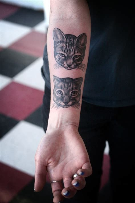 kitten tattoo cat tattoos designs ideas and meaning tattoos for you