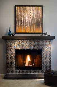 Glass Tile Fireplace Pictures by All The Right Angles Where Inspiration Meets Glass And