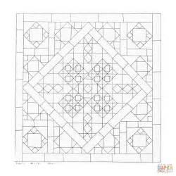 geometrische mandala kleurplaat gratis kleurplaten printen