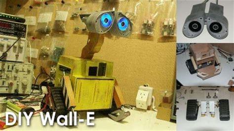 como hacer un wall e con material reciclable pasos para hacer un robot con material reciclable que se
