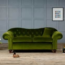 living room attractive green velvet sofa with armchairs