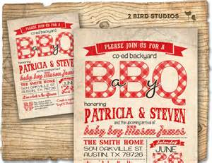 bbq baby shower invitation baby q baby shower coed couples