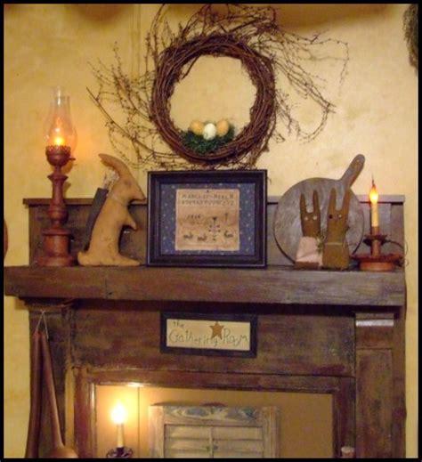 Primitive Fireplace Decor by A Primitive Place Primitive Colonial Inspired