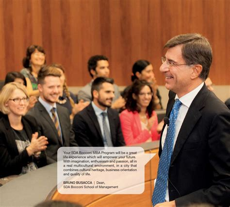 Sda Bocconi Mba by Sda Bocconi 1 Year Time Mba For Who Just Won