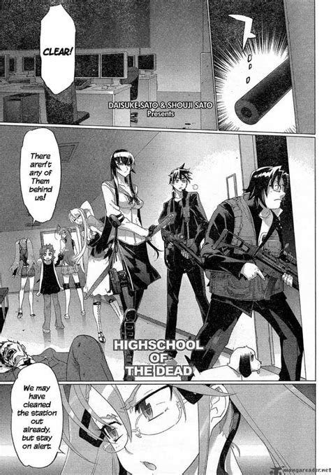 highschool of the dead reader highschool of the dead 28 read highschool of the dead