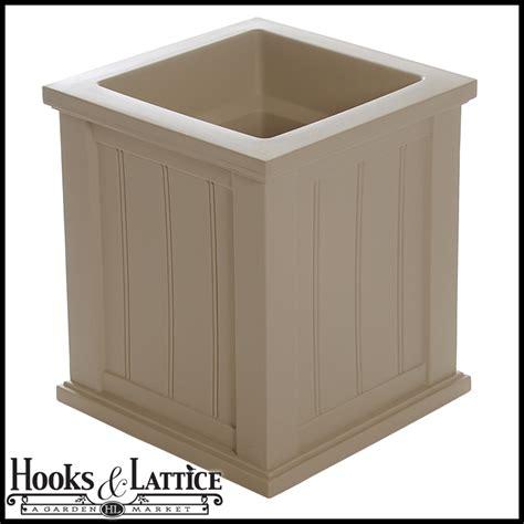vinyl planter boxes square outdoor planter vinyl deck planter boxes hooks and lattice