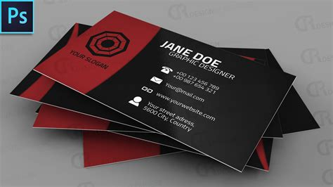 business card tutorial photoshop cs3 awesome creative business card photoshop tutorial dr