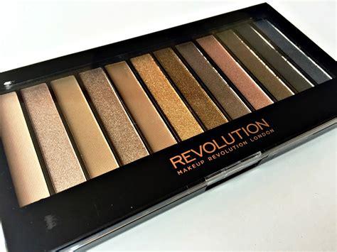 Makeup Revolution Redemption Iconic 3 Palette review swatches makeup revolution redemption palette