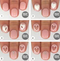 15 easy step by step valentine s day nail art tutorials