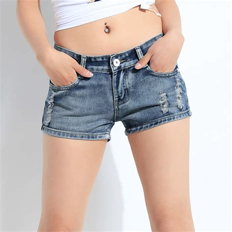 Size 27 30 Hotpants Missipi Non Stretch new high quality fashion s holes summer