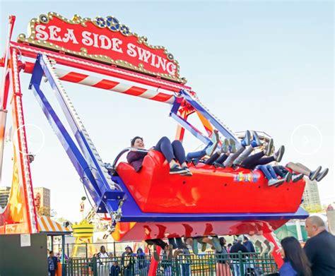 Carousel Bike Froggy Hijau amusement park rides theme park myrtle