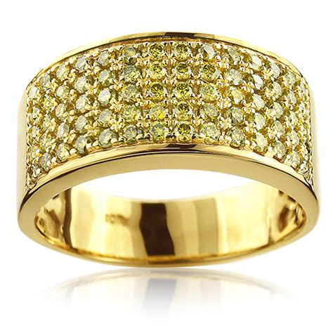 Gold Is Dizain Image by Mens Wedding Rings Mens Wedding Bands Yellow Diamonds