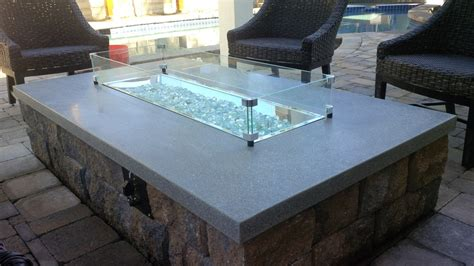 glass rock pit pit with glass rocks fireplace design ideas