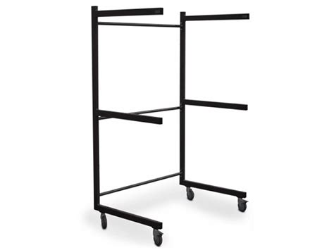 Coffin Rack by Coffin Rack Trolley For 3 Coffins Anthracite Gray Lavabis