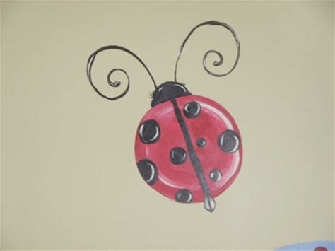 the gallery for gt painting ladybug