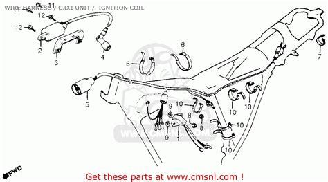 honda xl185 wiring diagram honda nx250 elsavadorla
