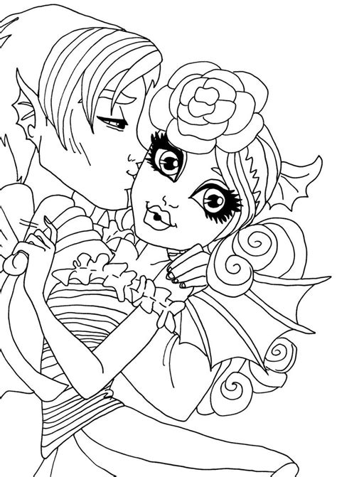 monster high zombie shake coloring pages 20 best monster high rochelle images on pinterest