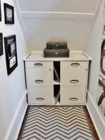 Organize Tiny Closet - under stair office reveal thistlewood farm