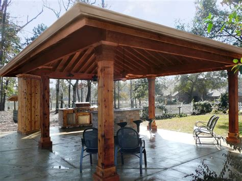 Outdoor Kitchen Pavilion Designs Pavilions New Orleans Garden Pavilions Custom Outdoor Concepts