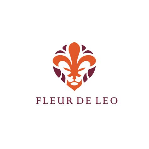 fleur de lis l sold fleur de lio lion fleur de lis logo design logo