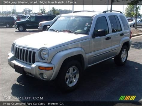2004 Jeep Liberty Limited Bright Silver Metallic 2004 Jeep Liberty Limited Taupe