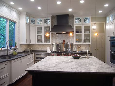 Different Of Countertops For Kitchen Using Two Granite Colors In The Kitchen