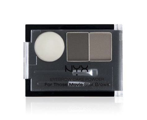 Eyebrow Cake Powder Blackgrey By Nyx eyebrow cake powder black gray by nyx eyebrows includes wax tools and a pair of complementary