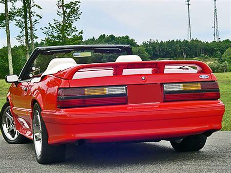 mustang cobra spoiler 1979 1993 mustang cobra coupe convertible spoiler