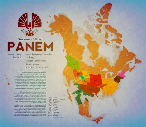 map of panem hunger panem annual hunger