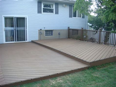 deck without railing gardens pinterest