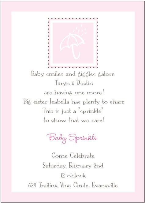 Baby Shower For 2nd Child by Baby Shower Invitation Wording For Third Child Show With