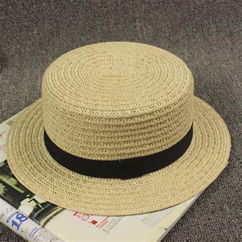 summer hat lovely black boater hats