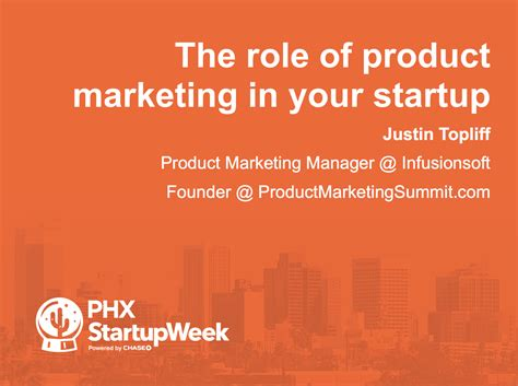 Mba Product Management Summit by I Speak About Product Marketing At Phx Startup Week