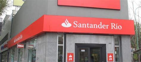 banco santander depositos a plazo fijo santander r 237 o anunci 243 inversi 243 n de 20 100 millones y