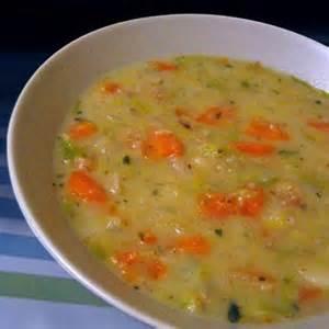 oaty vegetable soup des l 233 gumes et des flocons de