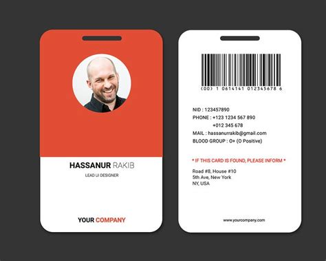 id card template free for mac 47 best id badge images on badge design brand