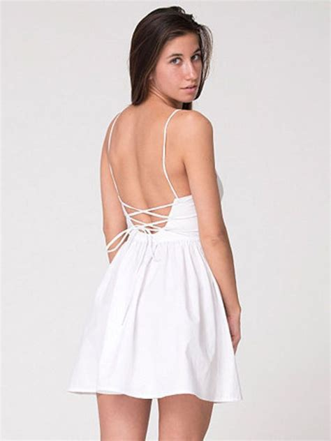 Dress For Withamerican Apparel by American Apparel Tie Back Dress Dresses