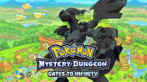 gates to infinity bosses zekrom mystery dungeon gates to infinity