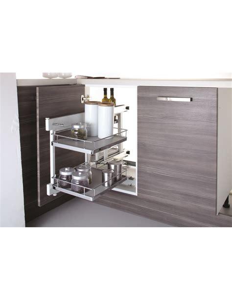 blind corner kitchen organizers new innostor pull out corner shelving suits 800mm corner