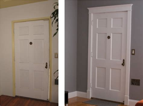 Changing Interior Doors Awesome Door Trim Molding House Exterior And Interior How To Replace Door Trim Molding