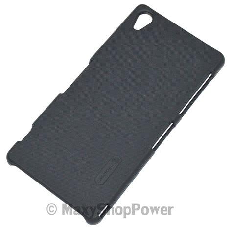 Nillkin Frosted Sony Xperia Z3 Black nillkin custodia frosted shell posteriore rigida